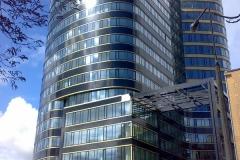 Zebra Tower – Warszawa rondo Jazdy Polskiej 1